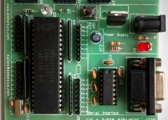 8051 Project Board – Small and Simple Development Board